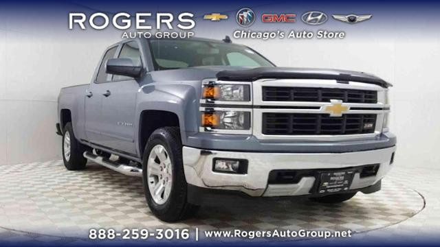Certified Pre-Owned 2015 Chevrolet Silverado 1500 4WD Double Cab 143.5 LT w/2LT