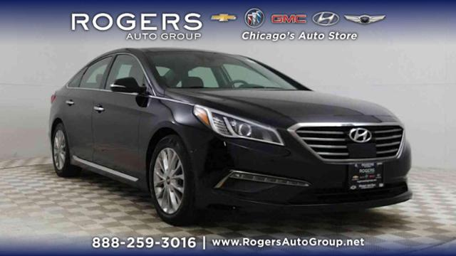 Certified Pre-Owned 2015 Hyundai Sonata 4dr Sdn 2.4L Limited w/Brown Seats
