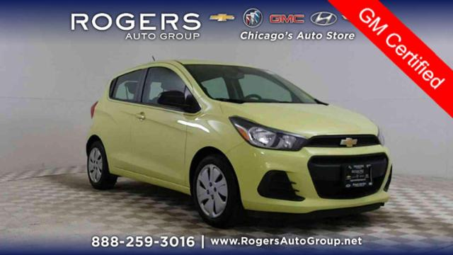 Certified Pre-Owned 2017 Chevrolet Spark 5dr HB CVT LS