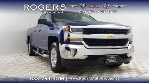 Certified Pre-Owned 2016 Chevrolet Silverado 1500 4WD Double Cab 143.5 LT w/1LT