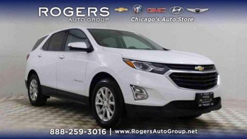 Certified Pre-Owned 2018 Chevrolet Equinox FWD 4dr LT w/1LT