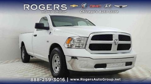 Pre-Owned 2017 Ram 1500 Tradesman 4x2 Regular Cab 8' Box
