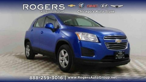 Certified Pre-Owned 2016 Chevrolet Trax AWD 4dr LS w/1LS