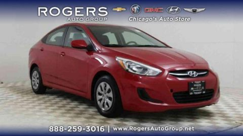 Certified Pre-Owned 2017 Hyundai Accent SE Sedan Auto